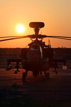 AH64 Apache Longbow Helicopter