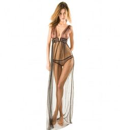 Titicaca Gown by Damaris is the most seductive nightdress we have ever seen! Now in at Fox & Rose