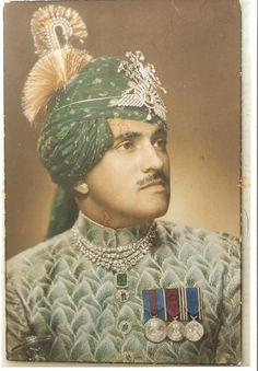 Maharaj Shri Man Singhji of Jaswantgarh – Idar State Second Son of Maharaja Shri Sir Daulat Singhji Sahib Bahadur of Idar By Rohit Sonkiya