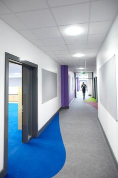 Award winning Supacord for classrooms and corridors at Chapelford Primary School www.heckmondwike-fb.co.uk