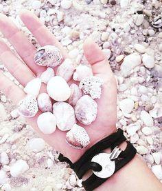 Black Leather || Silver || Shells & Sand || Summer || JoJo Wrap
