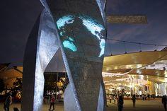 Immersive ltd Art Technology Sculptures Libeskind Expo 2015 Milano