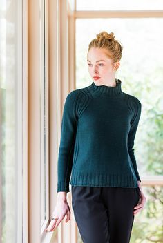 Ravelry: Boundary Pullover pattern by Olga Buraya-Kefelian