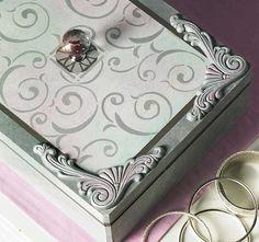 Craft Painting - DIY Hand Painted Jewelry Box