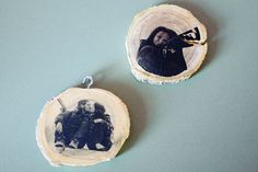 Weihnachts-Bloggerei: Baumschmuck aus Holz: Erinnerung an schöne Momente - BRIGITTE