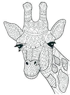 ausmalbild giraffe zum ausmalen | ausmalbilder, malvorlagen tiere, ausmalen