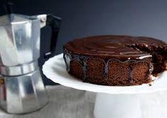 Torta vegan al cacao e caffé
