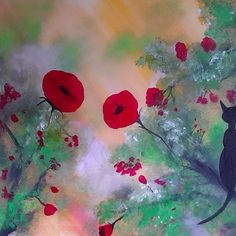 Lovely Day Meow from Krista May Originals for $50.00