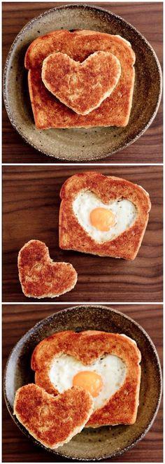 Valentine's Style Eggs