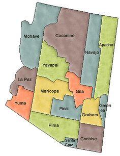 Arizona State Parks MapBy Artist Unknown Amazing - Map southwest us