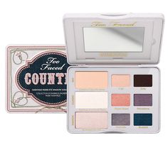 Too Faced Country Nashville Nudes Palette Review and Swatches