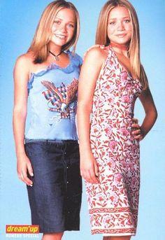Ashley I, Mary Kate Ashley, Mary Kate Olsen, Ashley Olsen, Olsen Twins Style, Full House, 2000s, Celebrity Style, Celebs