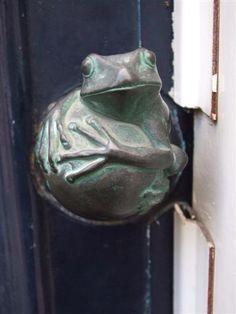 Frog door knob for @Karen Jacot Jacot Jacot Jacot Jacot Jacot Stanley