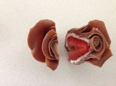chocolate strawberry roses tutorial by How To Cook That