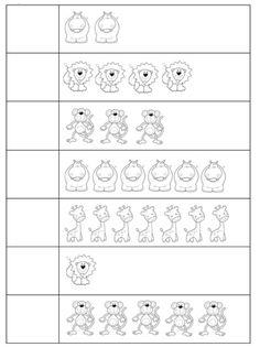 Werkblad: Dieren Tellen Pre K Worksheets, Preschool Worksheets, Preschool Activities, Kids Zoo, Math For Kids, Alphabet Writing Practice, Office Essentials, Speech And Language, Fun Learning