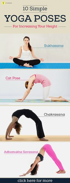 Do you want to increase your height? Bored of all those medicines and hard core exercises which promise a lot but show no result? Looking for ... #yoga