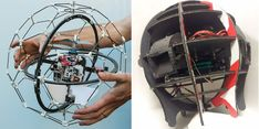 Spherical Flying Machine Inspired by Sci-Fi is Created With 3D Printing