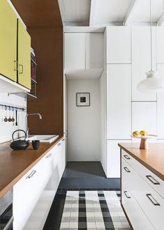 Daily Dream Decor: Graphic modern Paris apartment