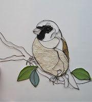 """A Rare Bird"" Sculptural Drawing By Christina James Nielsen"