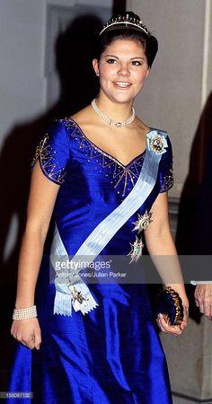 Crown Princess Victoria Of Sweden Attends The Wedding Of Prince Joachim & Princess Alexandra Of Denmark At Frederiksborg Castle. .