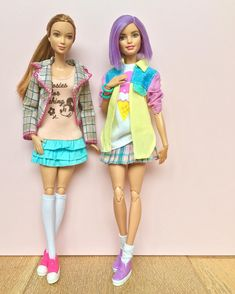 1,447 отметок «Нравится», 15 комментариев — Emily Polak (@emilypm3) в Instagram: «Pretty and preppy. Dolls: Fashionistas on M2M bodies. #barbiestyle #barbiedoll #barbiemadetomove…»