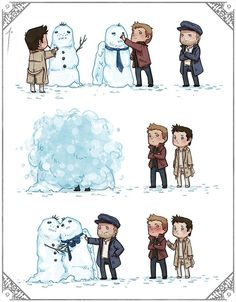 Benny ships Destiel too. <--at least he's good for something...
