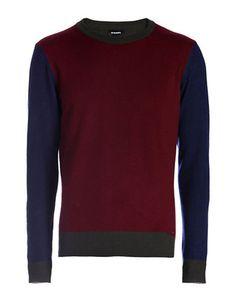 DIESEL Diesel K-Magistris Wool-Cashmere Sweater. #diesel #cloth #
