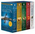 George R. Martin's A Game of Thrones Boxed Set: A Game of Thrones, A Clash of Kings, A Storm of Swords, and A Feast for Crows Game Of Thrones 5, A Feast For Crows, A Storm Of Swords, A Clash Of Kings, A Dance With Dragons, George Martin, King A, Luxor, Vintage Books