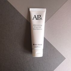 AP 24 Anti-Plaque Fluoride Toothpaste uses a safe, gentle form of fluoride to remove plaque and protect against tooth decay. Whitening Fluoride Toothpaste, Teeth Whitening, Ap 24, Stained Teeth, Nu Skin, White Teeth, Oral Hygiene, Cavities, Skin Care