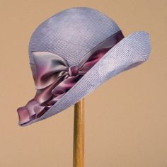 Cloche,periwinkle. Louise Green.