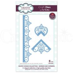 Sue Wilson Craft Dies - Pacific Collection - Border & Corners