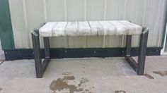 Hey, I found this really awesome Etsy listing at https://www.etsy.com/listing/191819950/metal-fire-hose-bench