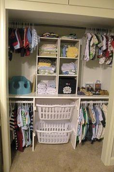 Smart baby closet. easy to make