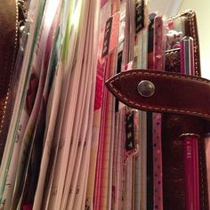 filling your filofax with personal touches  #filofax