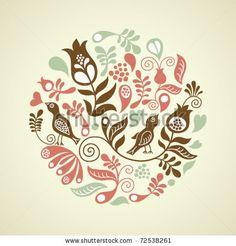 Floral illustration by LenLis, via Shutterstock