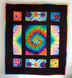 tiedyejudy's weblog: tie-dye art quilt class