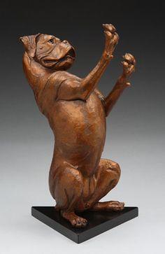 Louise Peterson - The Boxer, bronze