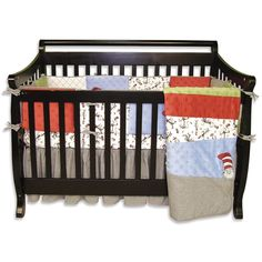 Gorgeous Cat In The Hat Crib Bedding Set Picture Inspirations