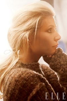 I love Gwenyth Paltrow when she looks natural like this