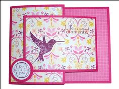 Splitcoaststampers FOOGallery - Elements of Style - Joy Fold Card Joy Fold Card, Fancy Fold Cards, Folded Cards, Origami Shapes, Weird Shapes, Elements Of Style, Card Making Tutorials, Small Cards, Stamping Up Cards