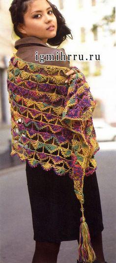 Die 171 besten Bilder von häkeln tücher in 2018 | Crochet scarves ...