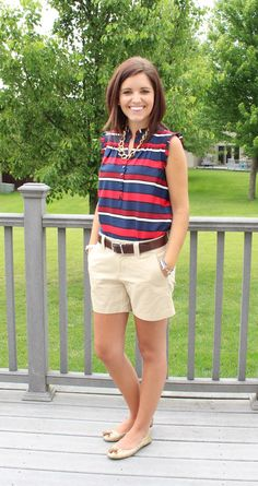Classy In The Classroom: I have this Tommy Hilfiger top and love it!