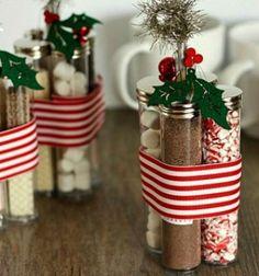 Instant hot cocoa kit - simple and quick Christmas gift idea // Instant forró csoki ( kakaó ) készlet - kreatív ajándék ötlet // Mindy - craft tutorial collection // #crafts #DIY #craftTutorial #tutorial #ChristmasCrafts #Christmas