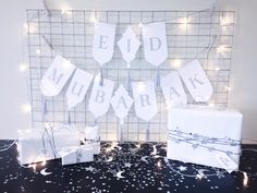 A free DIY printable banner to decorate and bring the feeling of joy to your home this Eid! Eid Mubarak Banner, Eid Banner, Ramadan Mubarak, Eid Mubark, Eid Al Adha, Eid Balloons, Diy Eid Decorations, Diwali Party, Eid Party