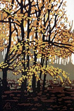 Alexandra Buckle: Autumn Trees
