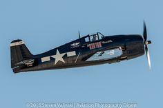 https://flic.kr/p/rE35uD | Grumman F6F-5 Hellcat | N1078Z  Aviation Nation 2014  Nellis AFB, NV USA   For APD's coverage of Aviation Nation 2014 see:  aviationphotodigest.com/aviation-nation-2014/