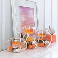 #Decorateityourself with the PartyLite Clearly Creative range! #partylite #candles #decoration #spring #kevät #vår