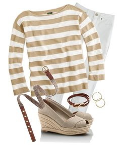 """""""Spring Neutrals"""" by justvisiting on Polyvore"""