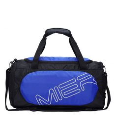 eb95047902b1 Small Gym Sports Bag for Men and Women with Shoes Compartment 18inch - blue  - CS12G88485H