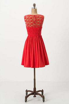 Sweet Enticement Dress by Moulinette Soueurs. Love the back of the dress.
